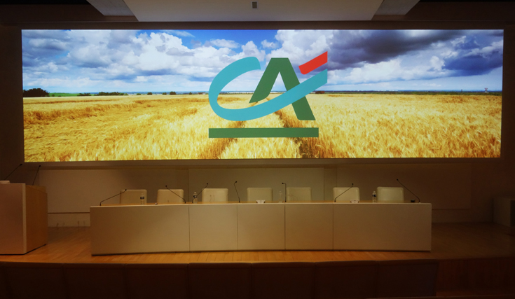HIGHLite 740 projectors at Federation nationale du credit agricole