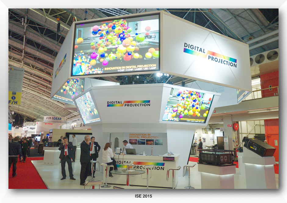 Digital Projection at ISE 2015
