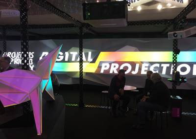 Dataton & Digital Projection at ISE 2015
