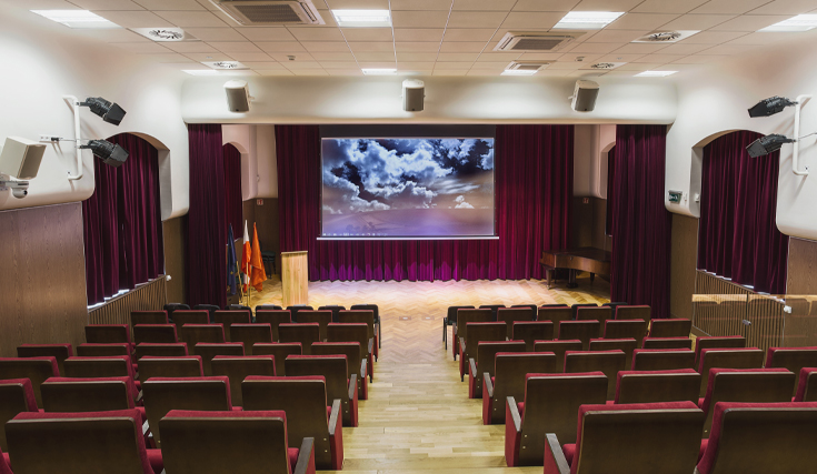 Auditorium Projector Image