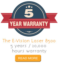 5 year projector warranty