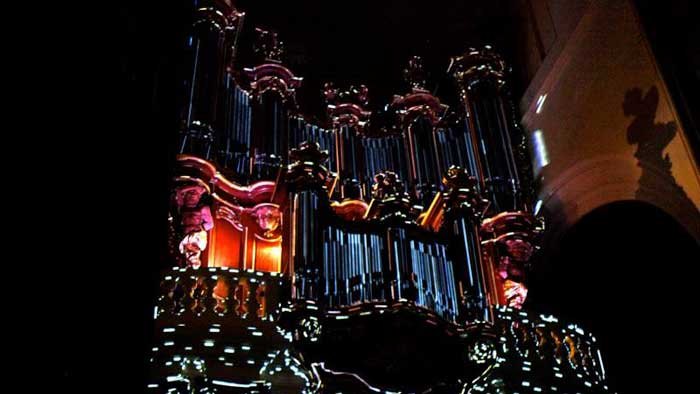 Basilique Projection Mapping