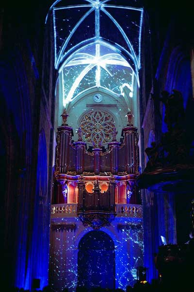 Basilique Digital Projection Mapping