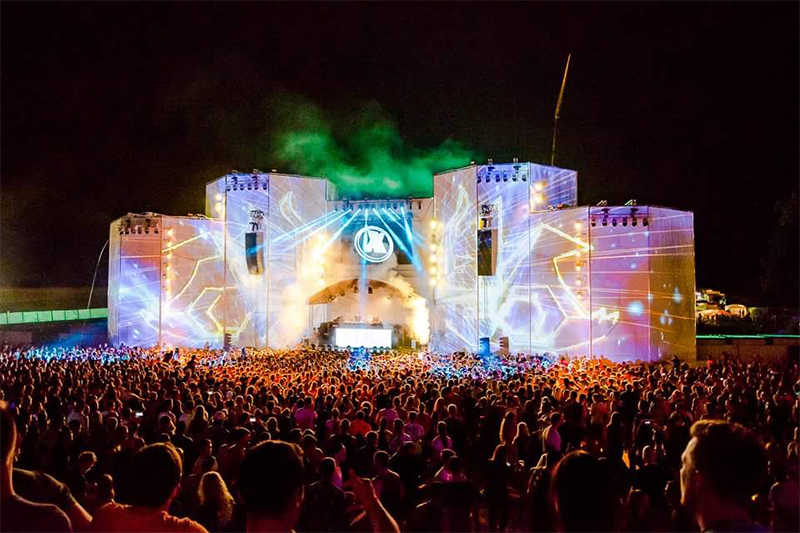 Open Beatz Festival Projection Mapping