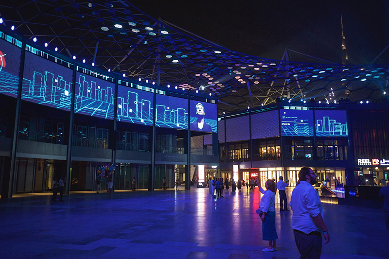 Digital Projection Citywalk Dubai