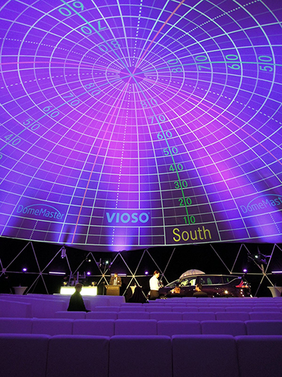 Digital Projection and Vioso