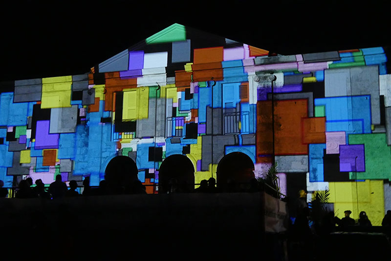 Creative Studio Projection Mapping
