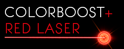 Colourboost red laser technology