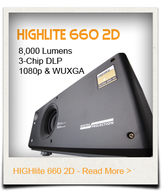 HIGHlite 660 projector