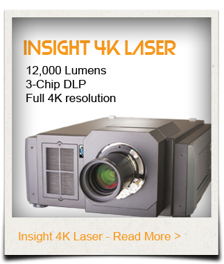 Insight 4K Laser Projector