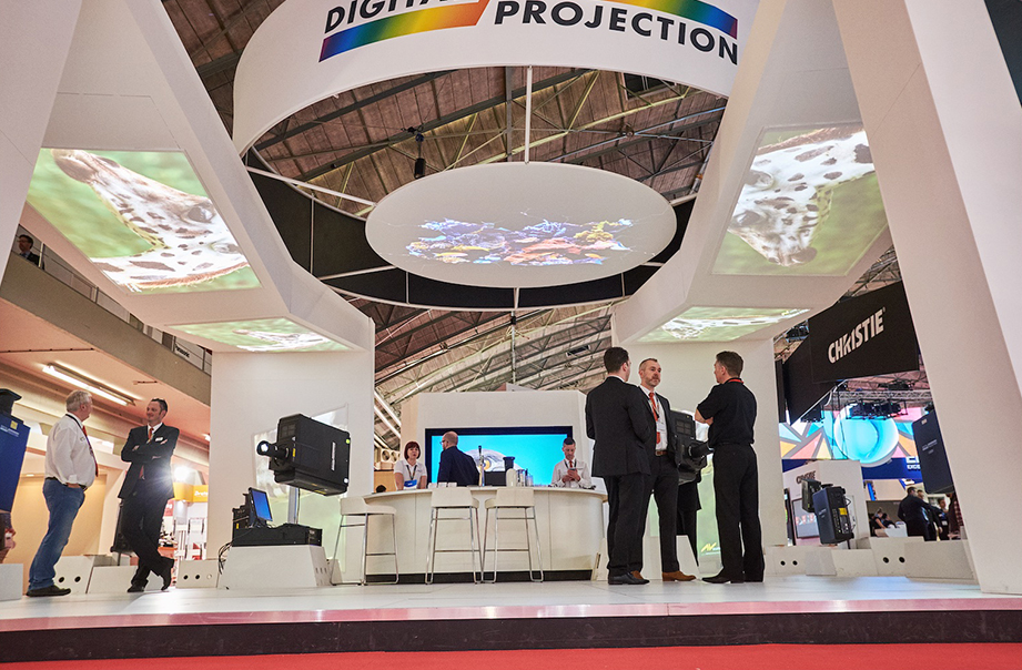 Digital Projection ISE 2016 booth