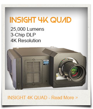 INSIGHT 4K Quad Projector