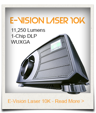 E-Vision Lase 10K Digital Projector