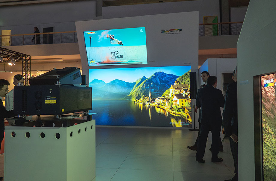 Digital Projection at ISE 2018