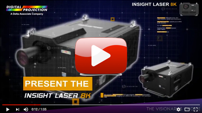 INSIGHT Laser 8K Digital Projector