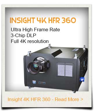 INSIGHT High Frame Rate Projector