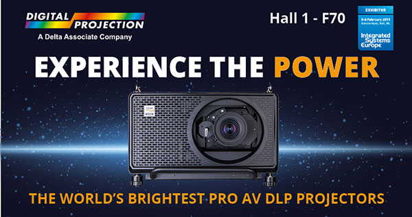 Digital Projection at ISE 2019