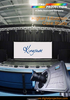 Kingshott School Digital Projection