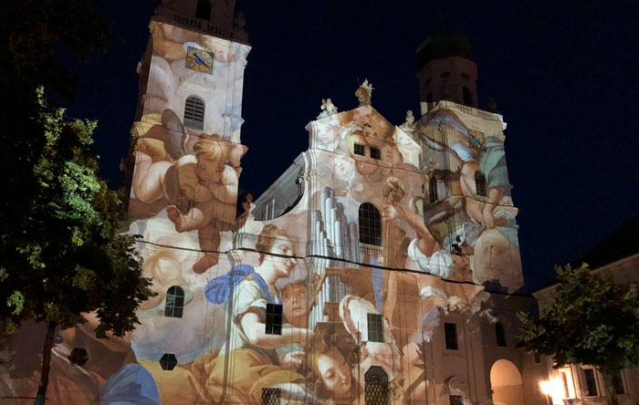 Passau Digital Projection Mapping 1