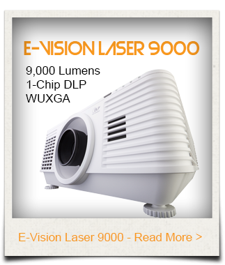 E-Vision Laser 9000 DigitalProjector