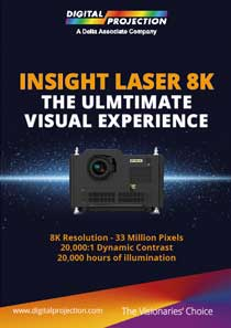 Insight Laser 8K Projector brochure