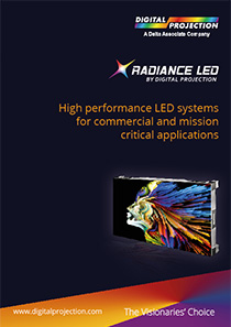 Radiance LED by Digital Projection Brochure