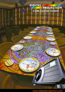 Restaurant Table Projection Mapping case study