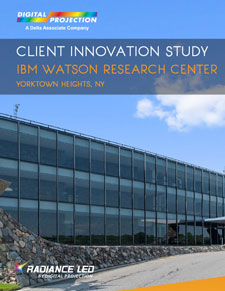 Radiance LED Wall at IBM Watson Research