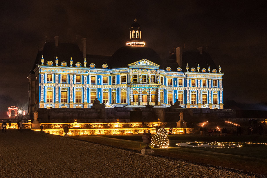 Chateau de Vaux-le-Vicomte projection mapping