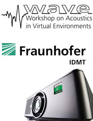 WAVE Event at Fraunhofer with Digital Projection