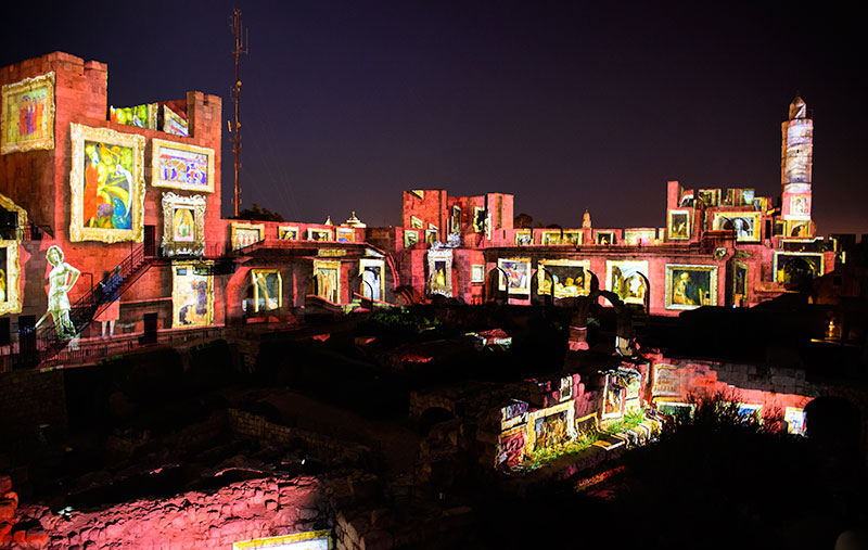Tower of David Projection Mapping