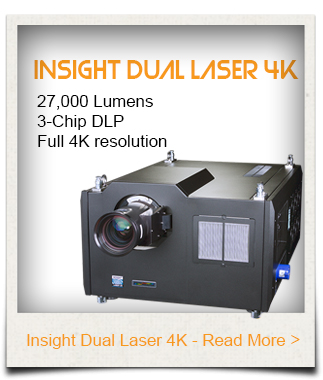 INSIGHT Dual Laser Projector