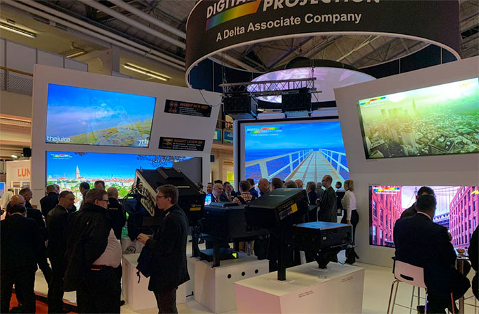 Digital Projection ISE 2019 Review