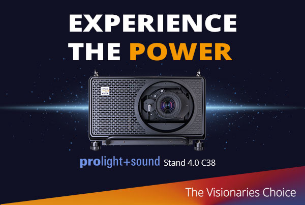 Digital Projection at Prolight & Sound