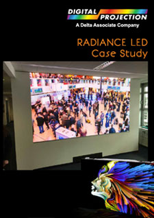 Radiance LED Videowand-Systeme von Digital Projection
