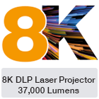 8K Laser projector germany